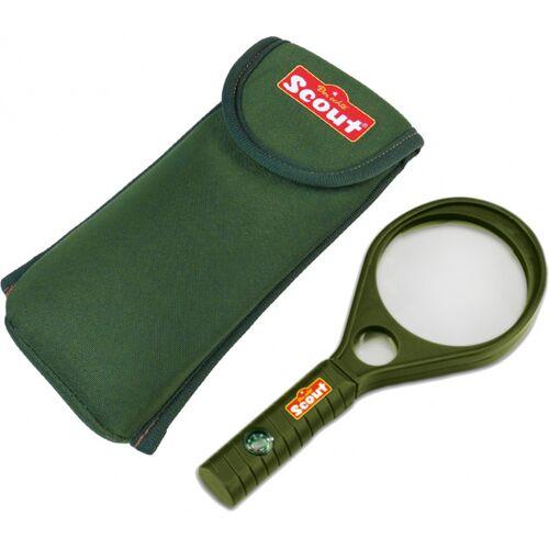 Happy People lupe mit Gürteltasche Scout 18 cm grün