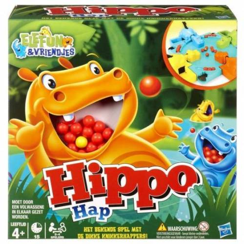 Hasbro Hippo Hap 27 x 27 x 27 x 12 cm Brettspiel