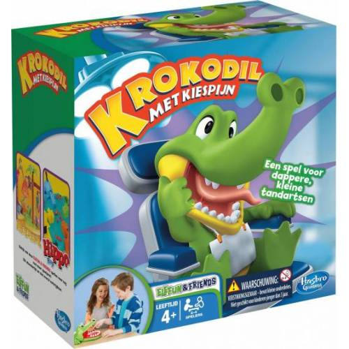 Hasbro kinderspiel Krokodil mit Zahnschmerzen Juniorgrün