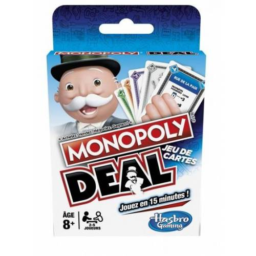 Hasbro Monopoly Deal Kartenspiel (FR/NL) 18 cm