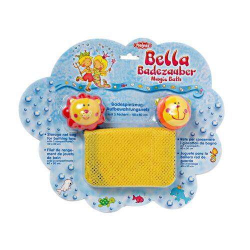 Heless aufbewahrungsnetz für Badespielzeug 40 x 50 cm gelb