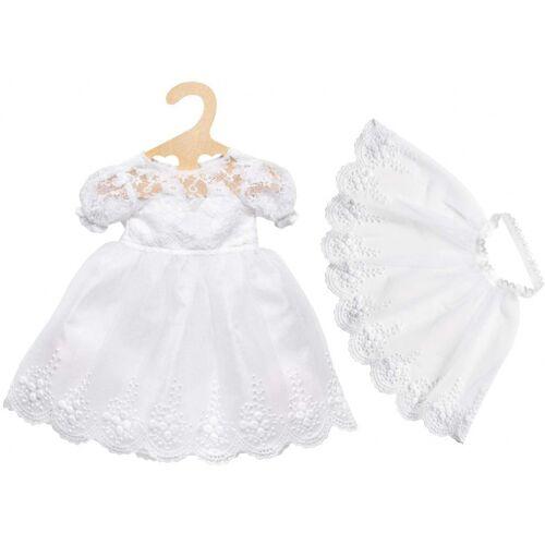 Heless puppenkleidung Brautkleid Mädchen 28 35 cm weiß 3 teilig