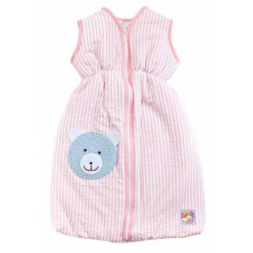 Heless puppenschlafsack rosa für eine Puppe von 20 25 cm Länge