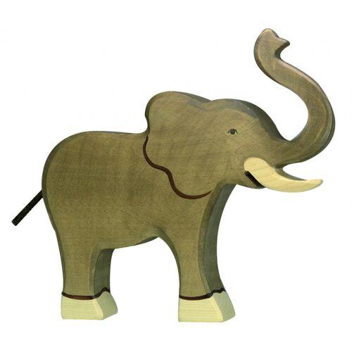 Holztiger Holz Elefant