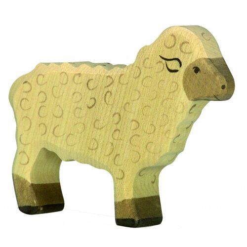 Holztiger Holzboden Schafe