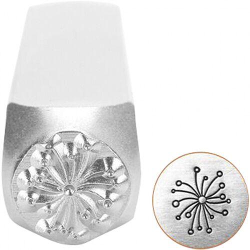 ImpressArt Prägestempel Silber 6 mm Löwenzahn