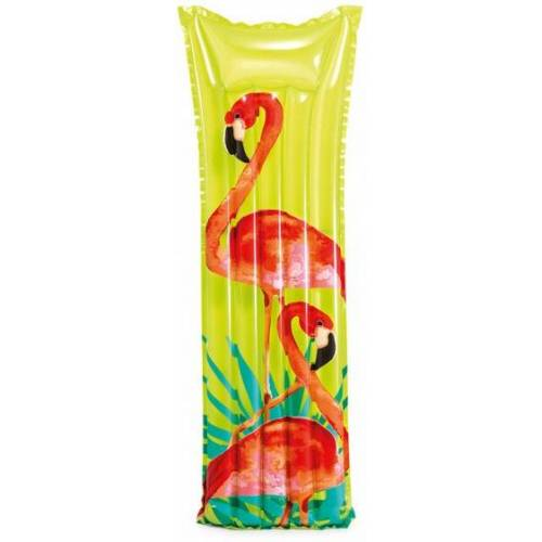 Intex luftmatratze Flamingo 183 x 69 cm grün