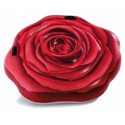 Intex luftmatratze Red Rose 137 x 132 cm rot