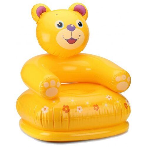 Intex aufblasbarer Stuhl Bär gelb 65 x 64 x 74 cm