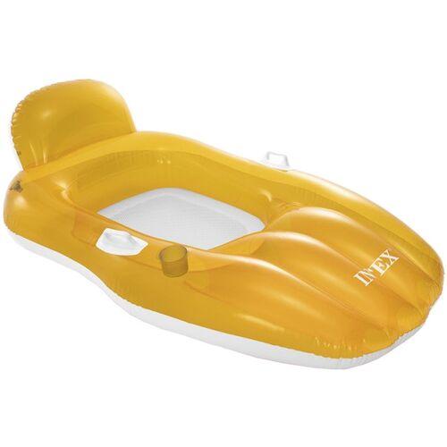 Intex schlauchboot Chill 'n Float 163 x 104 cm pvc/mesh orange