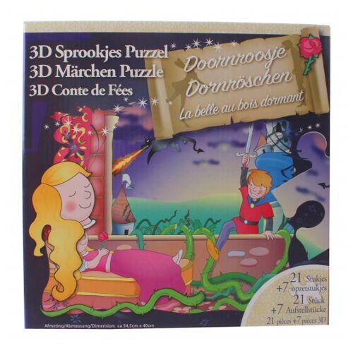Jade 3D Puzzle Dornröschen Schönheit 28 Teile