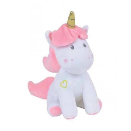 Jemini musical Einhorn Spielzeug Mädchen Plüsch 24 cm weiß / rosa