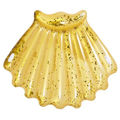 Jilong luftmatratzenschale Glitter 172 x 165 cm gold