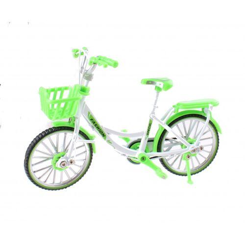 Johntoy puppenfahrrad Kunststoff grün