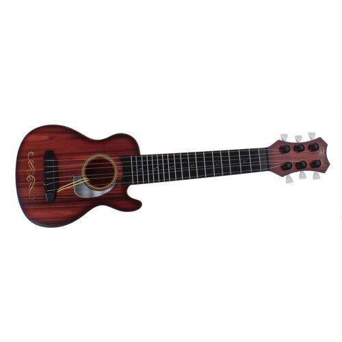 Johntoy 6 Gitarrensaiten braun 44 cm