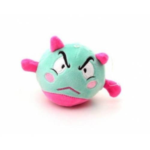 Johntoy Squishy Plüschfigur 10 cm grün/rosa