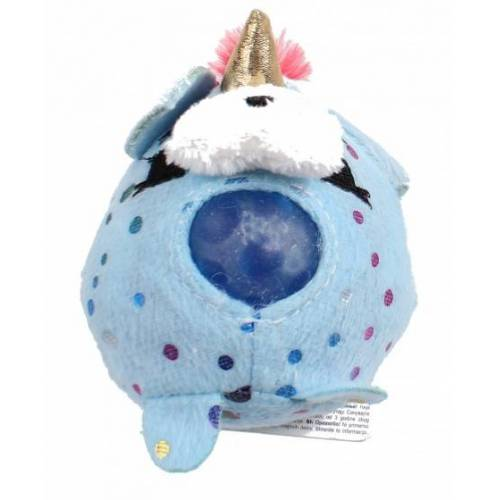 Johntoy stressball Squishyjunior 8 cm Runden blau