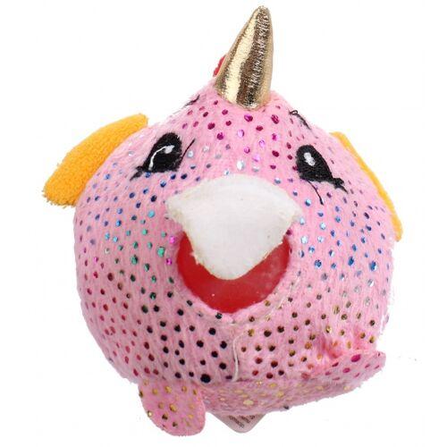 Johntoy stressball Squishyjunior 8 cm rosa