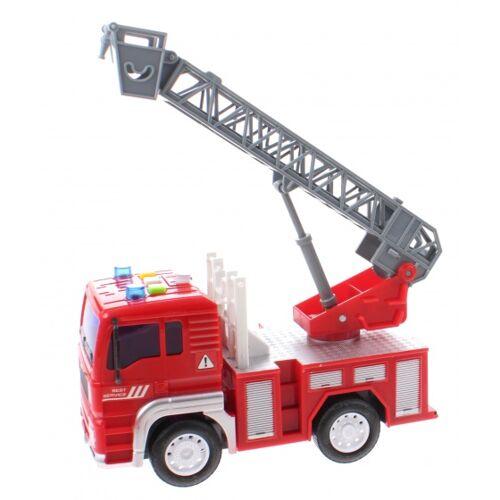 Jonotoys Feuerwehrmann Feuerwehrmann Jungen 18 cm rot / grau
