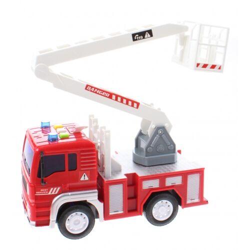 Jonotoys Feuerwehrmann Feuerwehrmann Jungen 18 cm rot / weiß