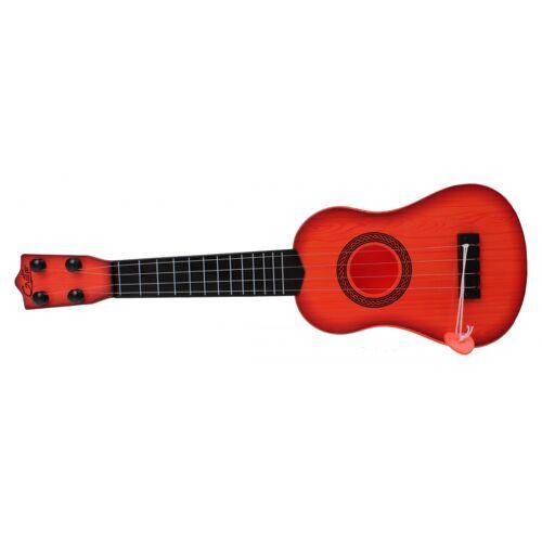 Jonotoys gitarre viersaitig mit Plektrum orange 40 cm