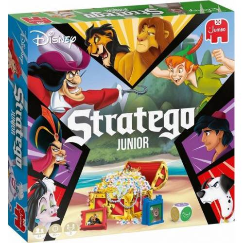 Jumbo brettspiel Disney Stratego Junior