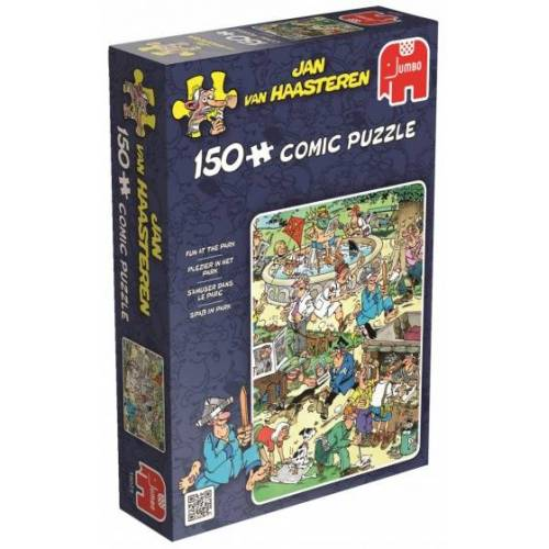 Jumbo jigsaw Puzzle Jan van Haasteren Fun In The Park 150 Teile