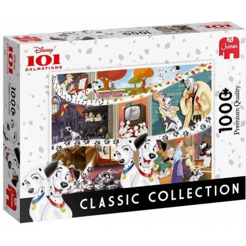 Jumbo puzzlespiel Disney 101 Dalmatiner 1000 Teile