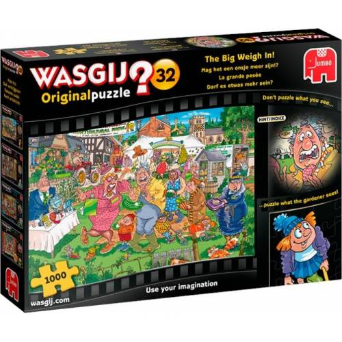 Jumbo puzzle Wasgij Original 32 The Big Weigh In 1000 Teile