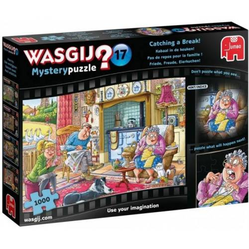 Jumbo puzzle Wasgij Mystery 17 Kabaal In De Keuken 1000 Teile