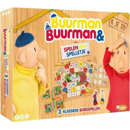 Just Games 3 in 1 Spielpaket Nachbar & Nachbarin