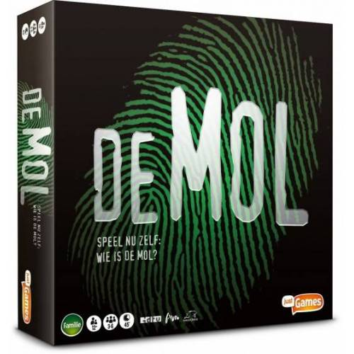 Just Games Brettspiel Wie is de Mol (BE)