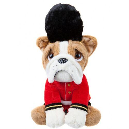 Kamparo kuscheltier Bulldogge als Royal Guard 20 cm braun
