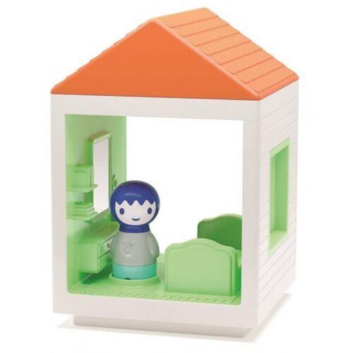 Kid O Myland Haus: Schlafzimmer mit Ton 13 x 13 x 19 cm
