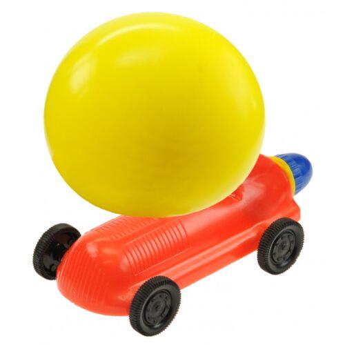 Kids At Work ballonrenner junior 6 cm rot/gelb