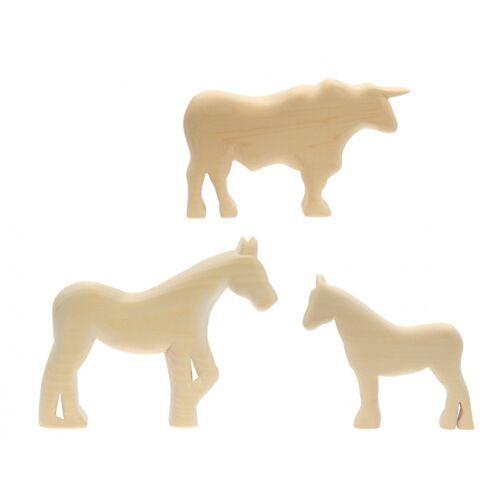 Kids At Work pferd, Pony und Stier schnitzen groß