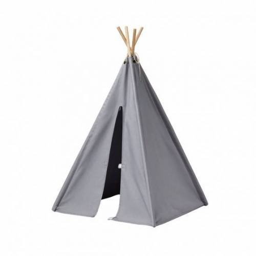 Kid's Concept mini Tipi Zelt 75 cm grau