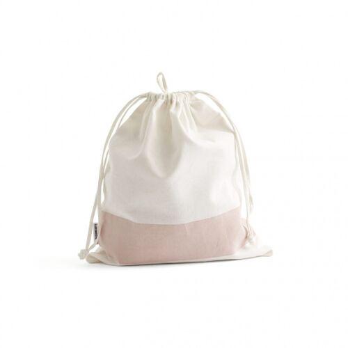 Kid's Concept aufbewahrungstaschen 35x30 cm Baumwolle weiß/rosa 3 Stück