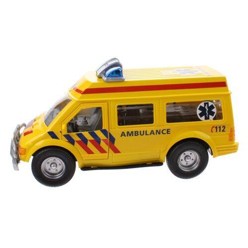 Kids Fun Krankenwagen gelb 26 cm