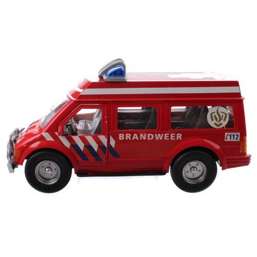 Kids Fun Rettungsdienst Feuerwehr 26 cm rot