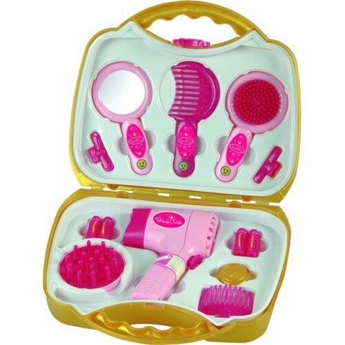 Klein Princess Coralie elektrischer Haartrockner pink / gold