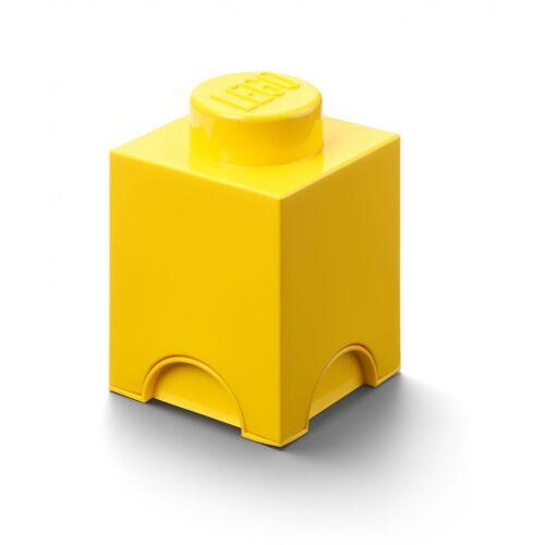 Lego speicherstein 1 nop 12,5 x 18 cm Polypropylen gelb
