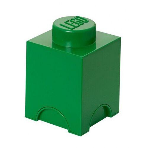 Lego speicherstein 1 nop 12,5 x 18 cm Polypropylen grün