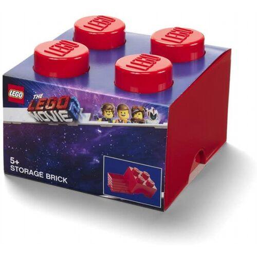 Lego speicherstein Movie II 4 Noppen 25 x 18 cm PP rot