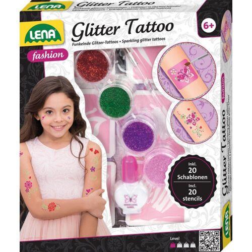 Lena glitzer Tattoos Glamour Mädchen 3 teilig