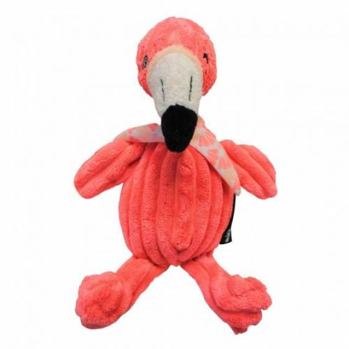 Les Deglingos kuscheltier Flamingo rosa 22 cm