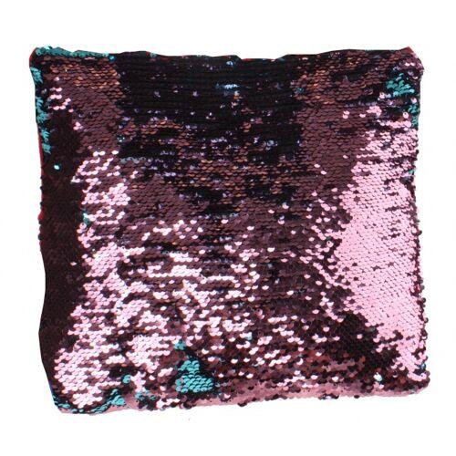 LG Imports kissen mit Pailletten 29 cm rosa