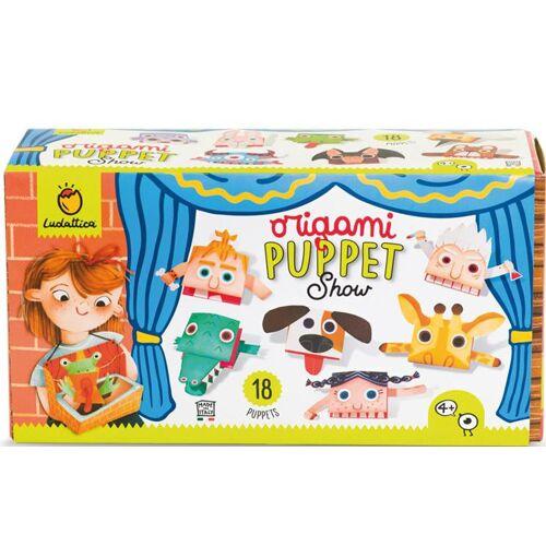 Ludattica bastelset Origami Puppentheater junior Papier
