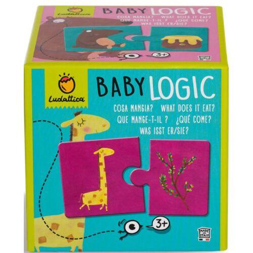 Ludattica puzzle Baby Logic Was isst es 20 Stück