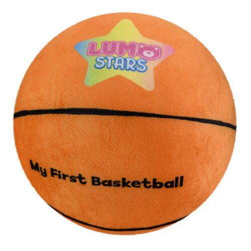 Lumo Stars stofftier Ball Basketball 24 cm Plüsch orange